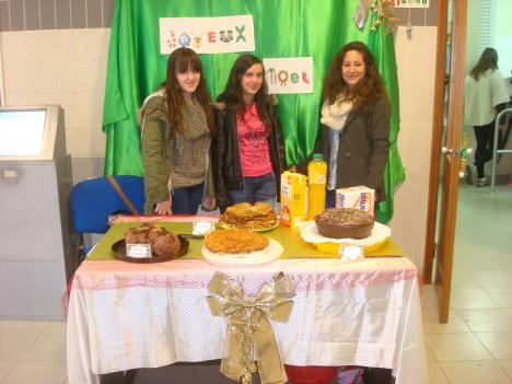 Banca de doces natalícios franceses - Clube de Francês