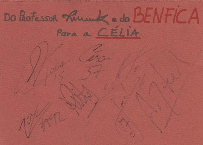 Autografos Benfica